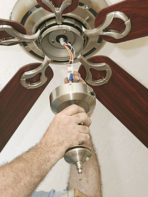 Panama city panama city beach and lynn haven ceiling fan installation add beauty and value to your home or business give keefe sons electric inc a call today to set up your consultation on ceiling fan installations aloadofball Gallery
